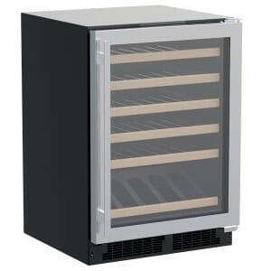 Marvel 24″ High Efficiency Single Zone Wine Refrigerator with Display Row