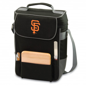 Duet 2 bottle Tote with Cheese Board – Sports Themed