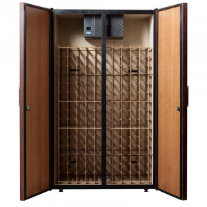 Le Cache Vault 3100 Wine Cabinet Classic Cherry
