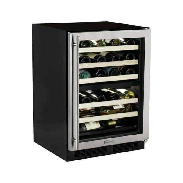 "Marvel 24"" High Efficiency Dual Zone Wine Cellar-301"
