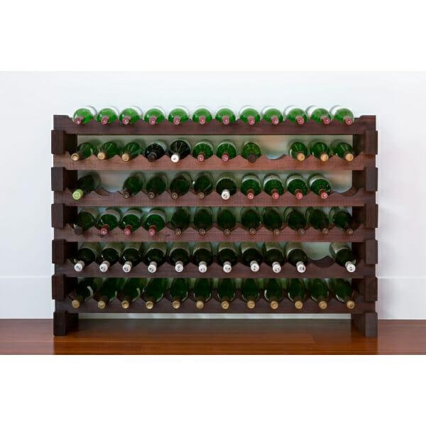 Modularack 6×12, 72 Bottle, Stained-325