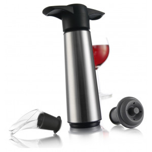 Vacuvin Wine Saver Stainless Steel Gift Set-271