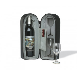Travel Wine and Glass Holder