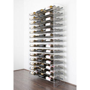 Evolution Series 6 Metal and Acrylic Wine Tower (126 to 504 bottles)