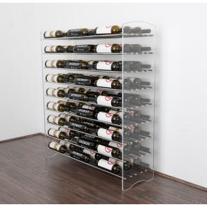 Evolution Series 4 Metal and Acrylic Wine Tower (81 to 324 bottles)